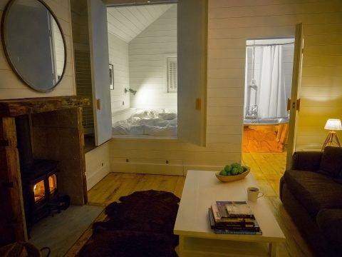 The hidden bedroom at Castle View