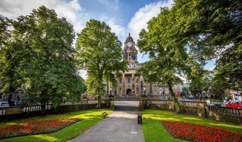 Dalton Square and Lancaster Town Hall