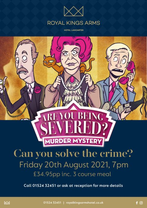 Are You Being Severed? Murder Mystery evening